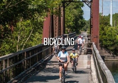 bicycling near and around gilchrist county
