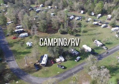 camping in and around gilchrist county