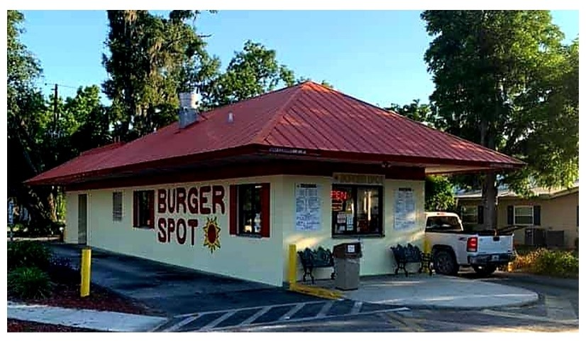 Burger Spot is the July Business of the Month. Celebrating 15 years in business.