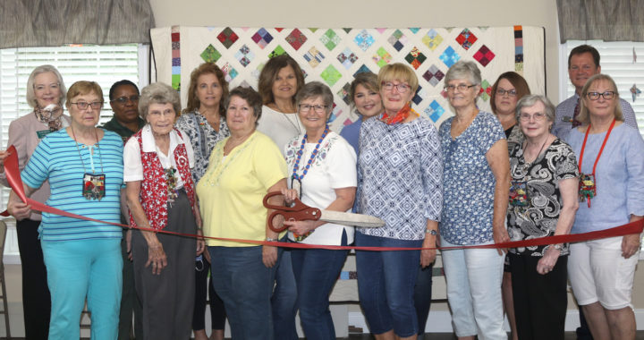 springhouse quilters and chamber ribbon cutting